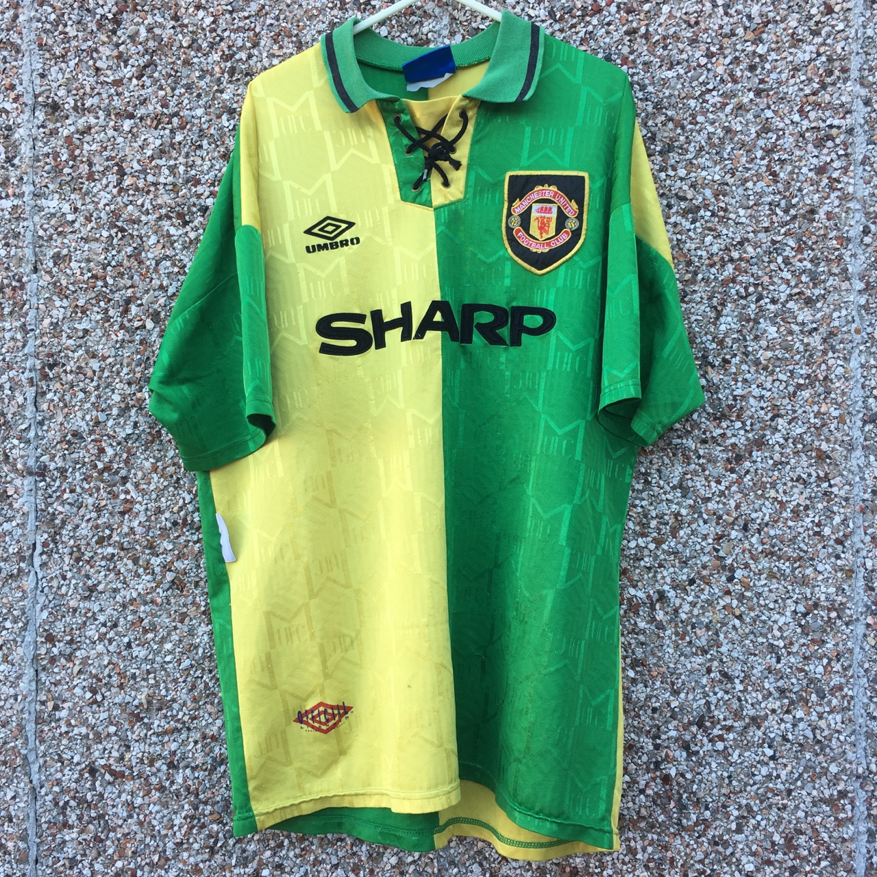 newest collection 080d2 9fa06 Manchester United Newton Heath football shirt... - Depop