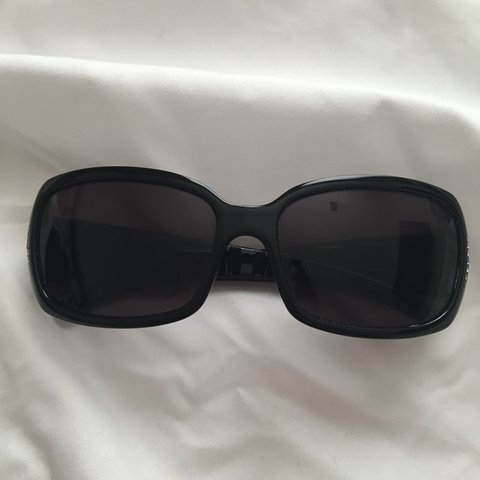 4656ab2d85adc Authentic Fendi Crystal Logo Sunglasses. In good condition - Depop