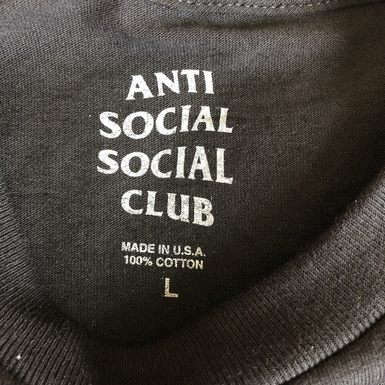 9da711e6e65 Playboy x Anti Social Social Club Remix Black Tee color  via - Depop