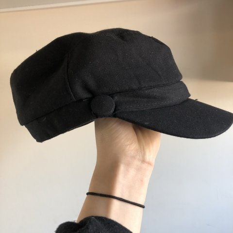 9506d768d7dac @contraclothing. 7 months ago. London, United Kingdom. Urban Outfitters Black  Baker Boy hat.
