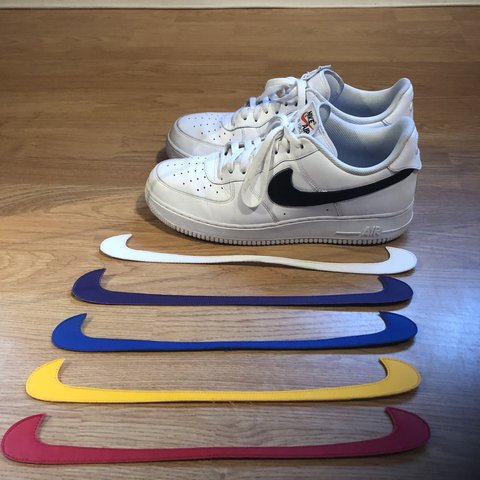 "3f698c65bc Men's Nike Air Force 1 "" Swoosh Pack "" Size 11 Condition on - Depop"