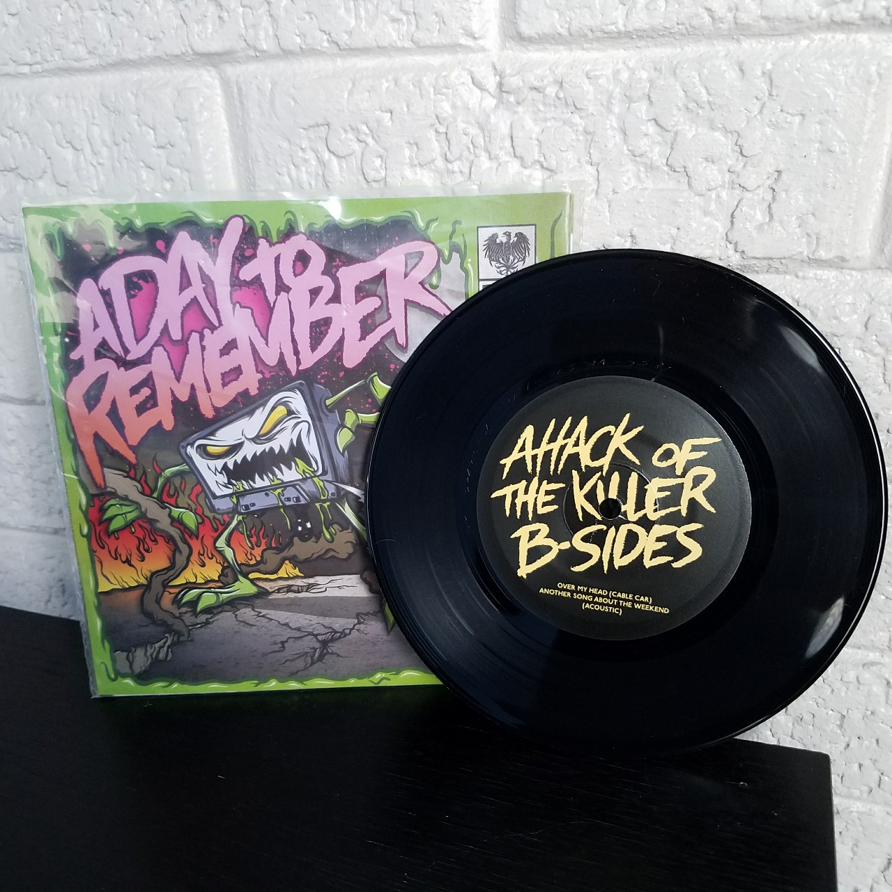 A Day To Remember 45 (7 inch) vinyl record! This    - Depop