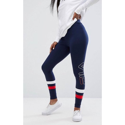 553a91d07a7ed3 @chloe9033. last year. London, United Kingdom. Women's Fila leggings ...