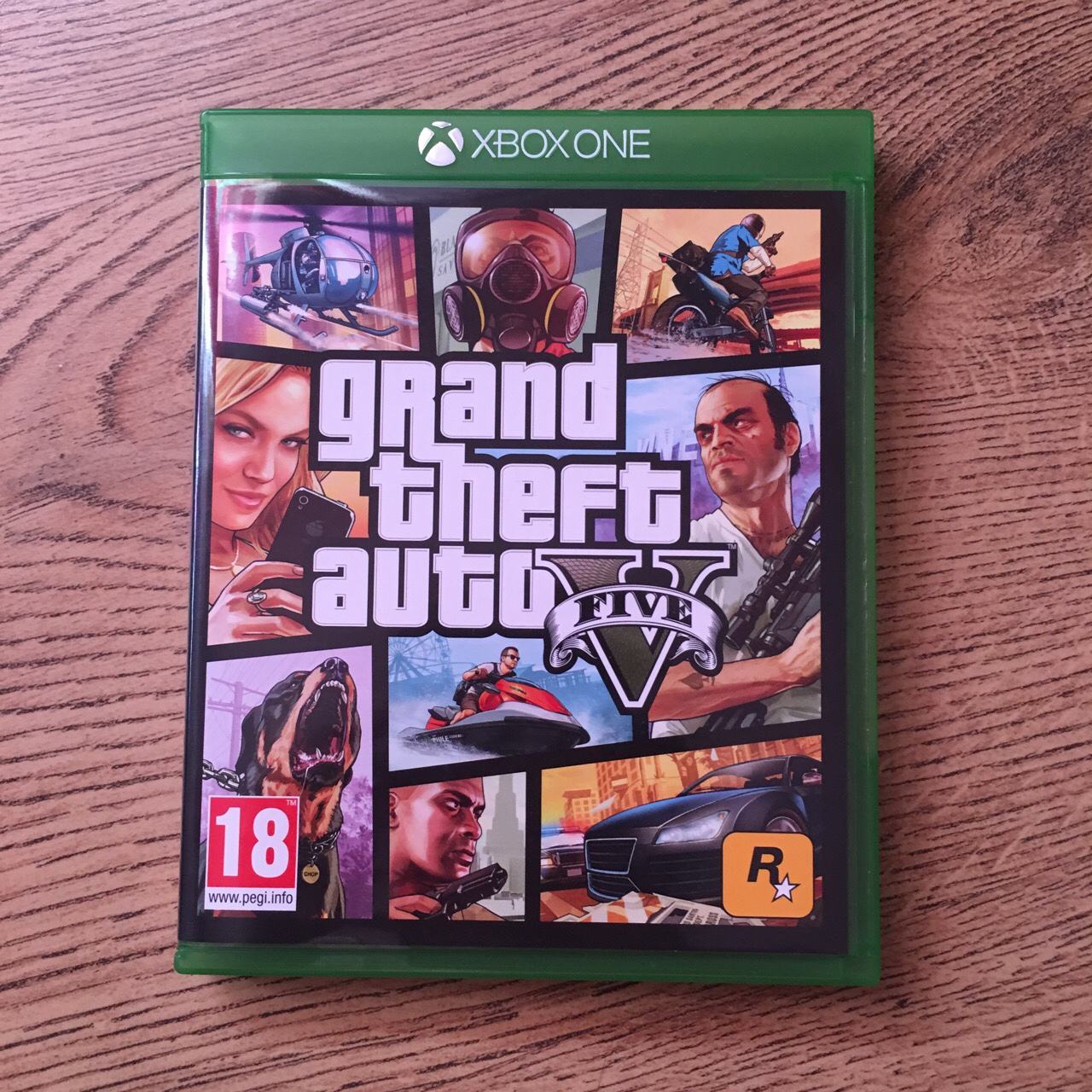 GTA 5 Xbox one Almost brand new bought last week and    - Depop
