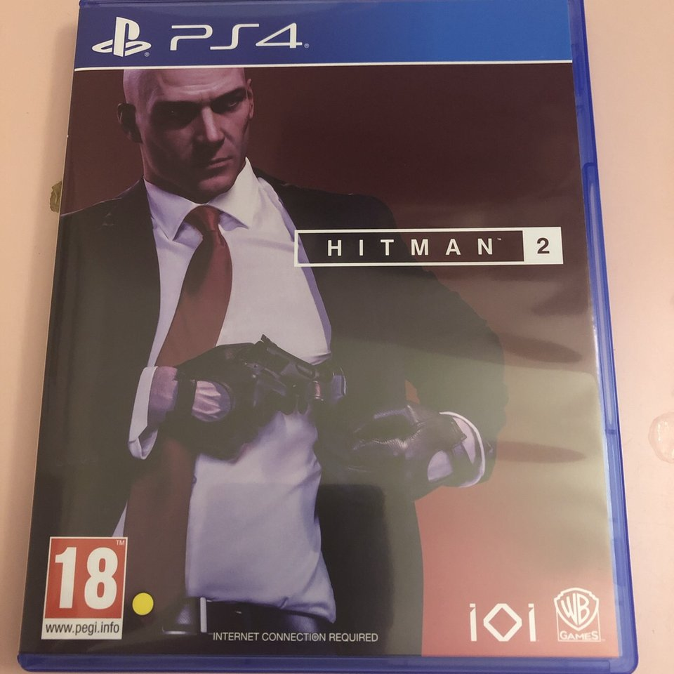 Hitman 2 Ps4 Game In Perfect Condition Hardly Depop
