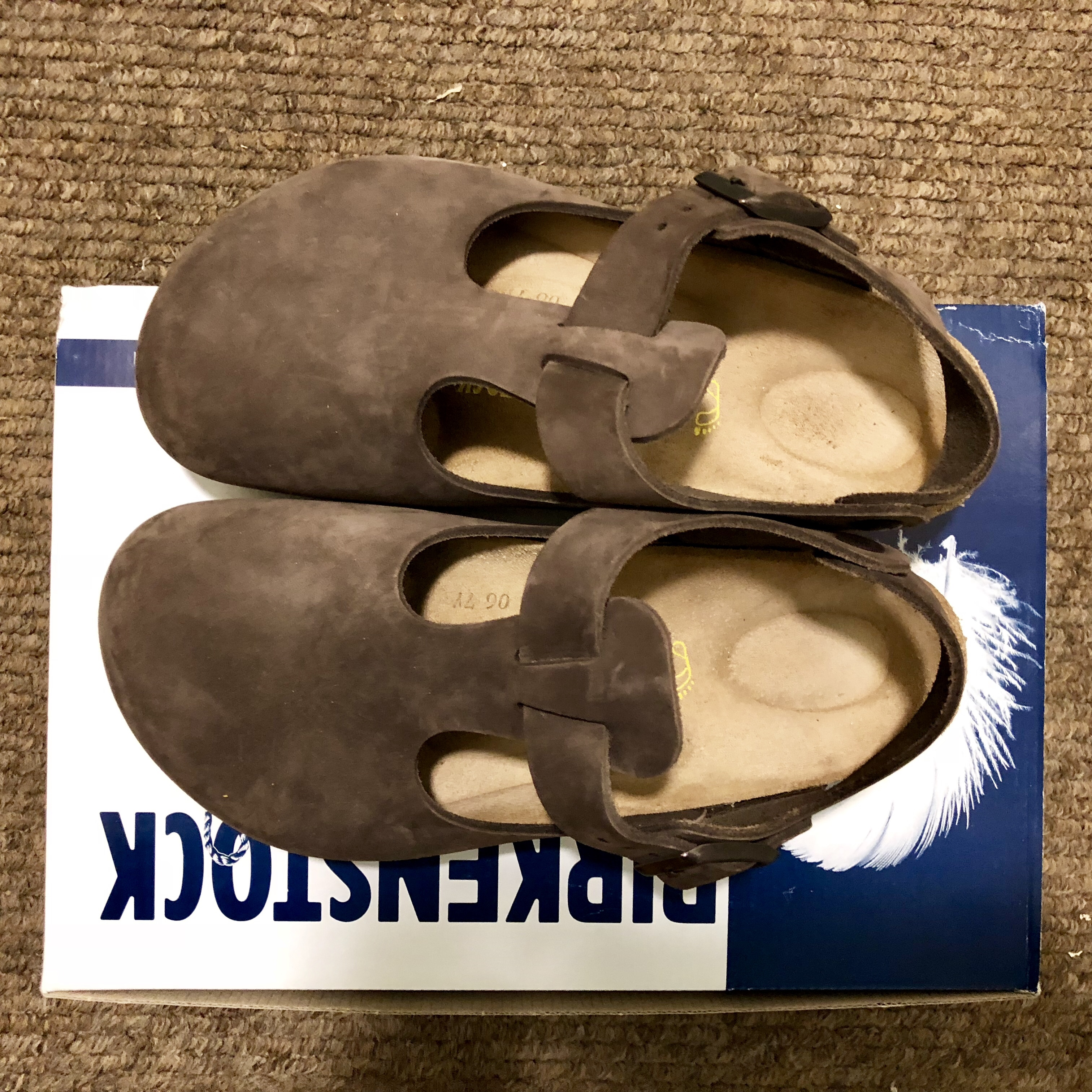 sneakers for cheap c2f6c 75313 A Brand new pair of Birkenstock Bonn clog sandals!... - Depop