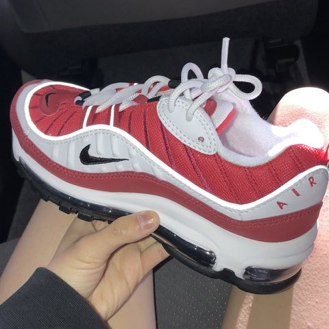 new zealand womens nike air max 98 red 3c2af e79f9