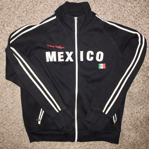 4a90314c @jvvintage. last year. Mooresville, United States. Mexico Tommy Hilfiger  track jacket