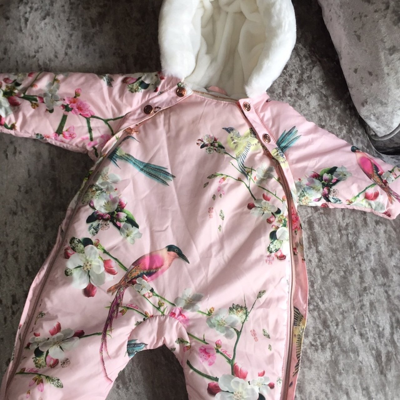 76da3627d Ted Baker Snow Suit 0-3 months Immaculate