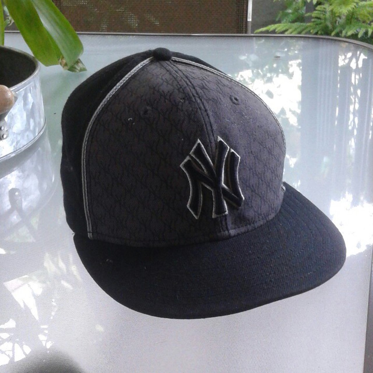 New York Yankees Fitted cap Great condition  newyorkyankees - Depop b57a75191c15