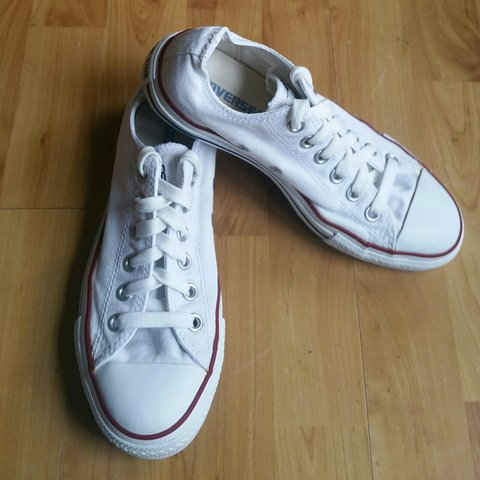 04233a47f9ca Converse All Star White Trainers - Size - UK 5