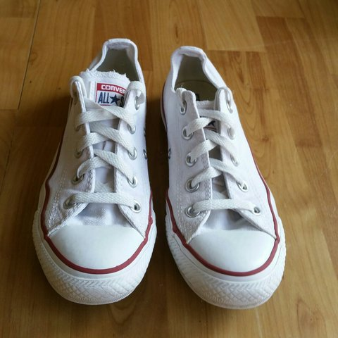 73004fb5aa9d Converse All Star White Trainers - Size - UK 3