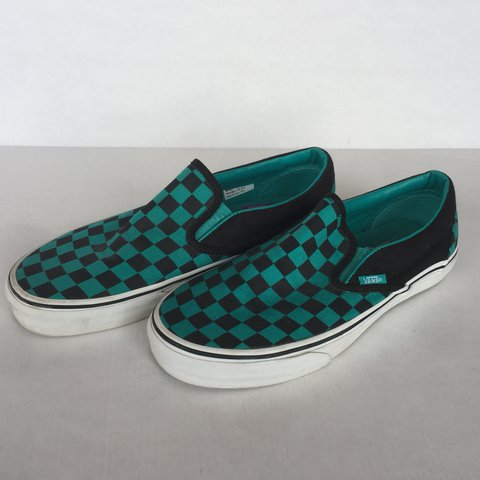 e1ef004f3a Checkered vans in size women s 8.5 or a men s 7. These are - Depop