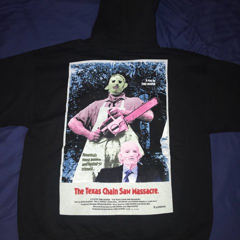 5fa48568a4ef TRAVI$ SCOTT HALLOWEEN MERCH HOODIE SZ LARGE 🔥🔥🔥 - Depop