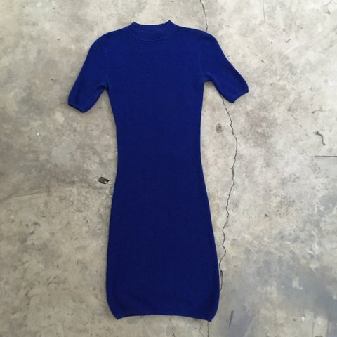e30a4e9f2c1a8e @veryevil. 2 years ago. San Diego, United States. T by Alexander Wang  Cobalt blue mock neck bodycon sweater ...