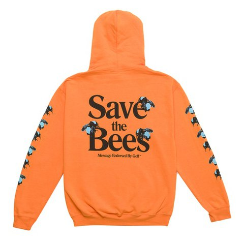 194e2b9623b0 Tyler the Creator Golf Wang Save The Bees hoodie sweatshirt - Depop