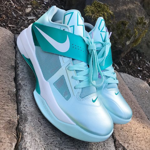 8ad9fb334384 Nike KD 4 Easter One of the Best Colorway for the KD 4 made. - Depop