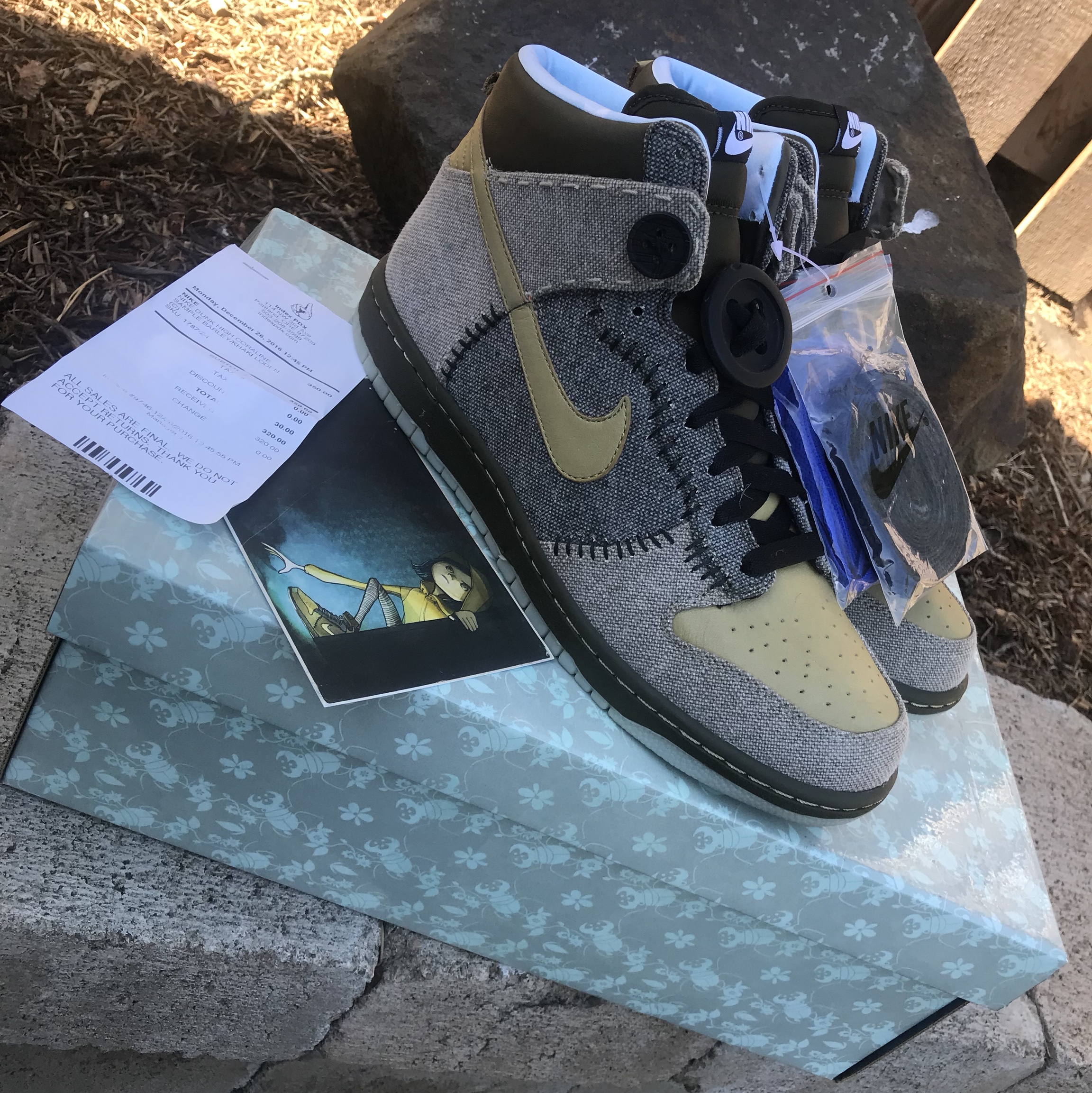 Deadstock Nike Coraline Dunk Samples These Shoes Depop