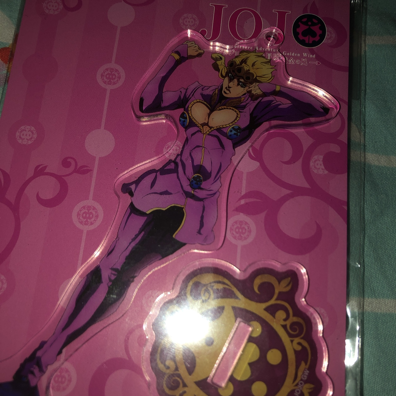 18 50 Giorno stand plus 4 50 shipping DM ME BEFORE
