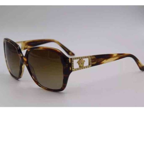 2957f76ae4df Versace Sunglasses Mod 4242-b 5025 TS Authentic Versace and - Depop