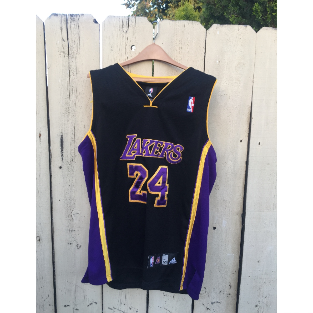 separation shoes 0014a 88e16 Size 50 Lakers Kobe Bryant Jersey by Adidas. Show... - Depop