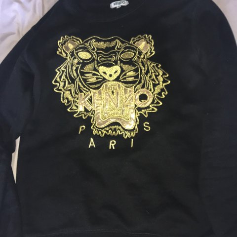 d93e1491 @chxrlirehayday. 6 hours ago. Thame, United Kingdom. Authentic Limited  edition men's black with gold Tiger kenzo ...