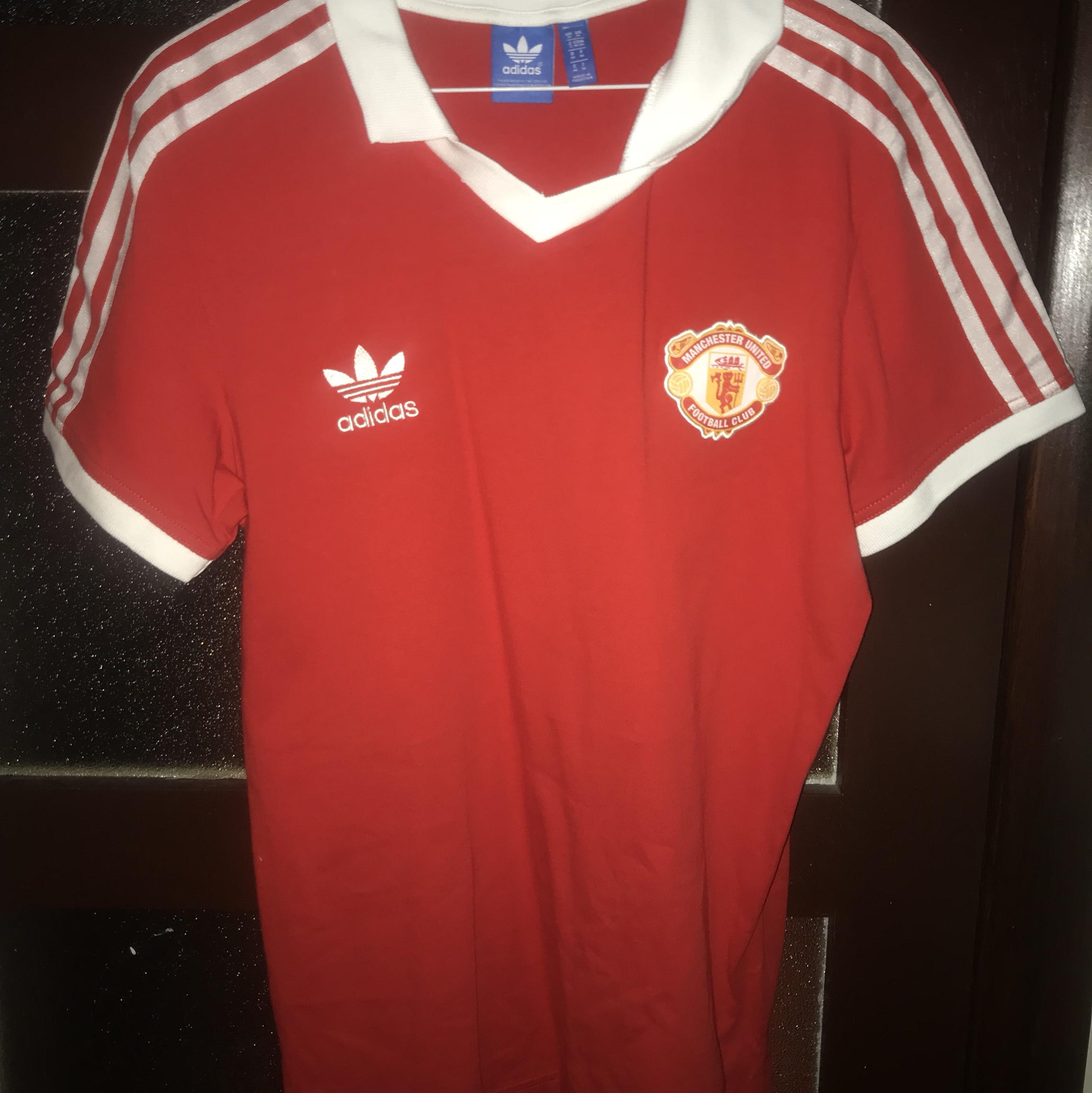 new arrival 91657 93cdd Manchester United classic t-shirt in a UK size... - Depop