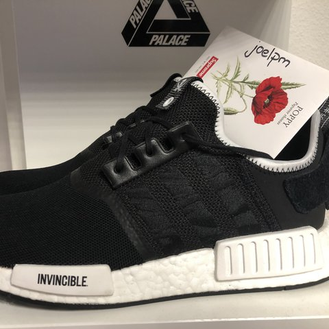 f884459d02007 adidas NMD R1 Neighborhood x Invincible cond  9 10 size  UK - Depop