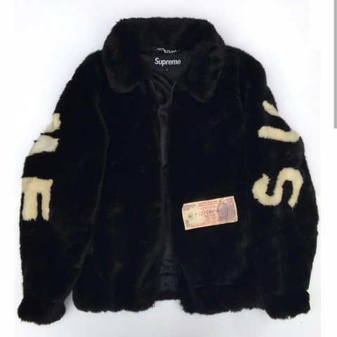 best loved d5951 95dc3  kieranmaharajah. 5 months ago. London, GB. Interest check supreme faux fur  bomber jacket
