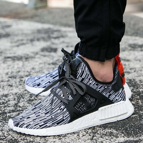 e0515bf7e472a Adidas NMD XR 1 Glitch camo Size 6UK Good condition with on - Depop
