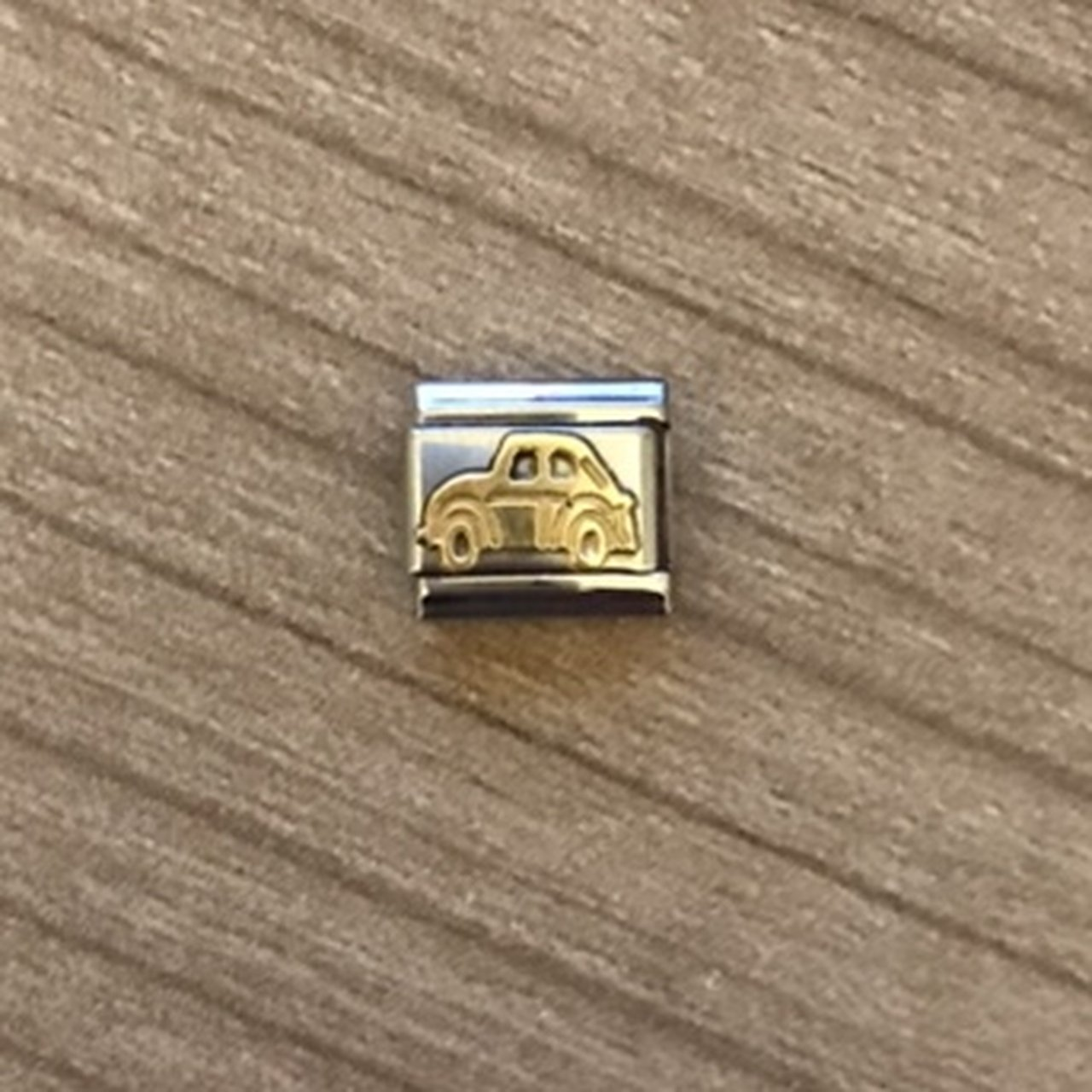 Nomination Classic Gold Car Charm In excellent questions 😊 - Depop c0dc528cd859