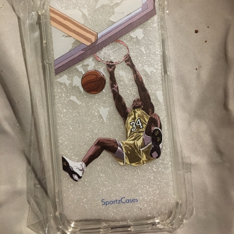premium selection 6f80c eb5a8 shaq dunking Iphone 6 Sportzcases brand case! Brand... - Depop
