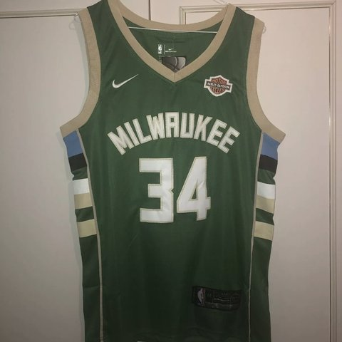 fb8e8bfa8e8 @marckypri. 3 months ago. Enfield, United Kingdom. Giannis Antetokounmpo - Milwaukee  Bucks Green NBA Jersey.