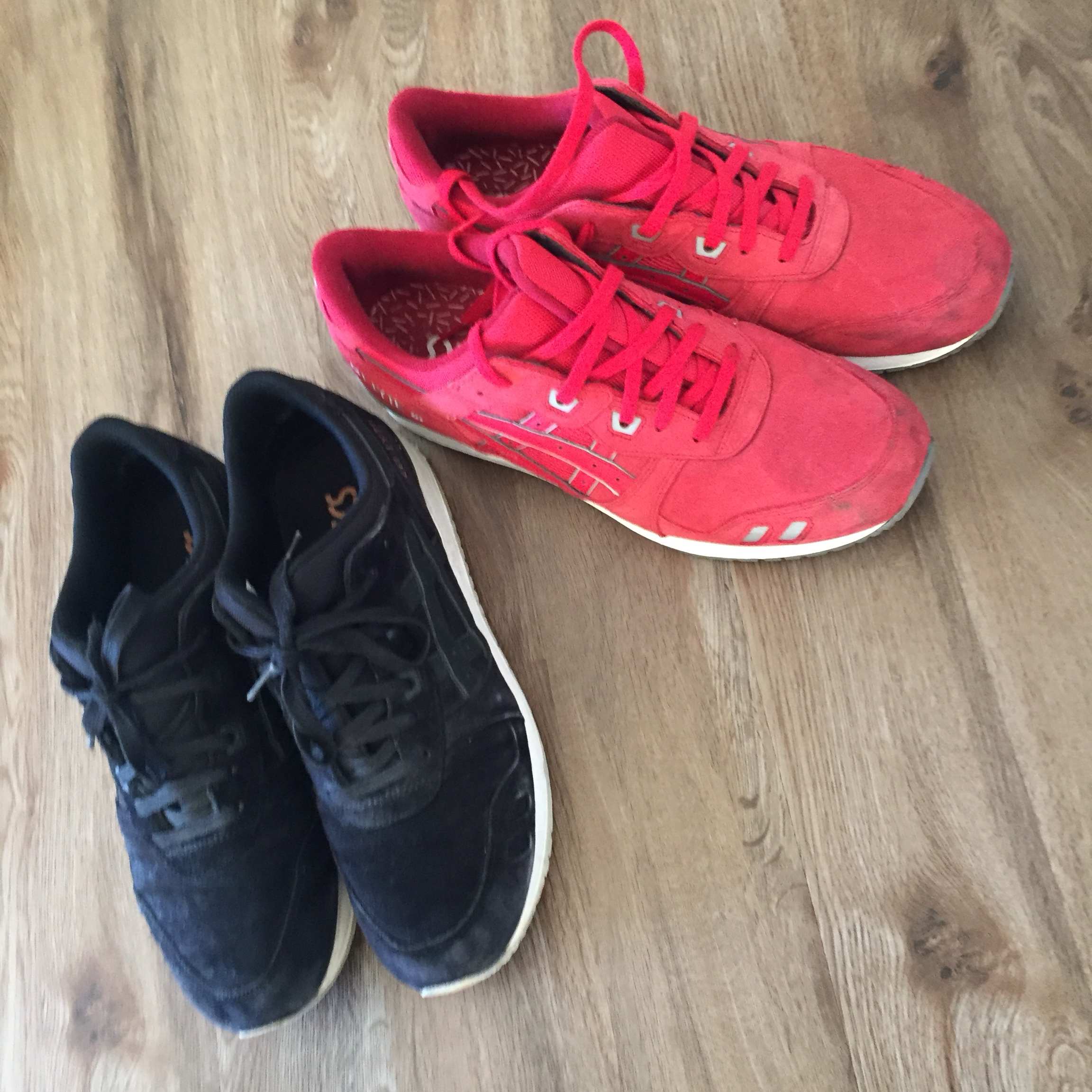 2 for the price of 1 asics gel lyte 3 Rose gold Depop