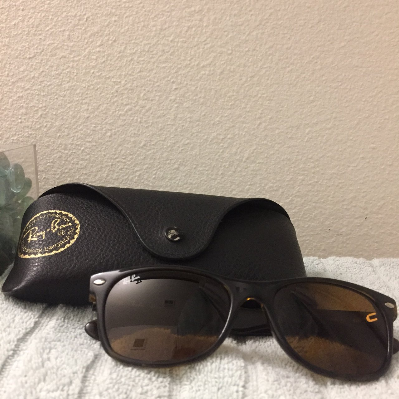 Ray Ban Sunglasses Used But In Good Condition In The Color Depop