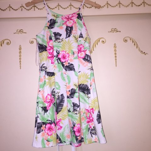 dcd8920bcc Lovely colourful playsuit from a boutique. Worn once brand - Depop