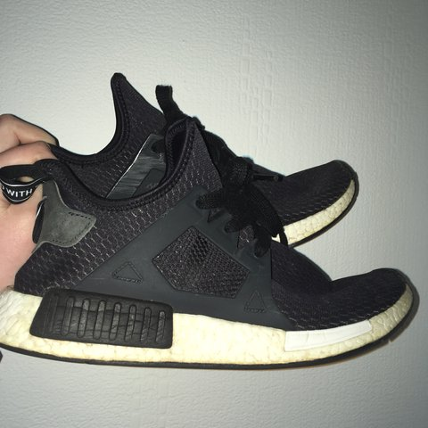 607e0f7d5 Adidas NMDs XR1 s. Black on white. Worn but in good Early so - Depop