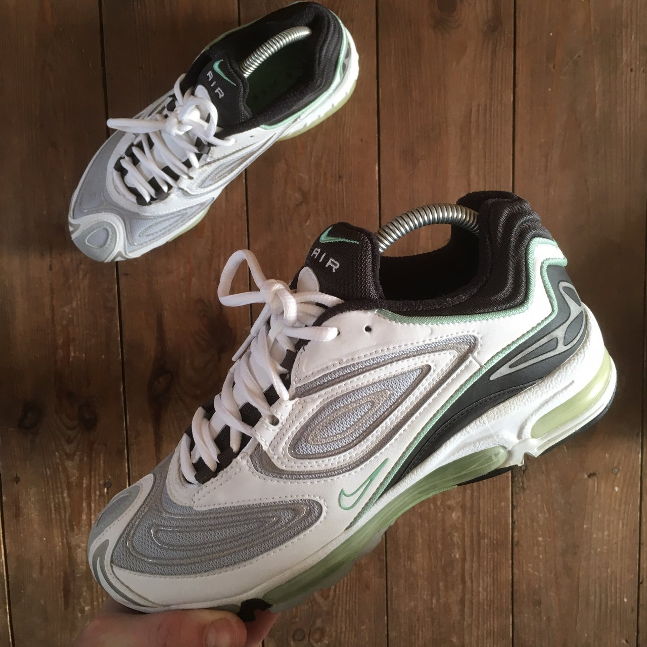 brand new 22371 a89d0 Nike Air Max TL 98 Enamel Green Size  6.5uk Condition  10 10 - Depop