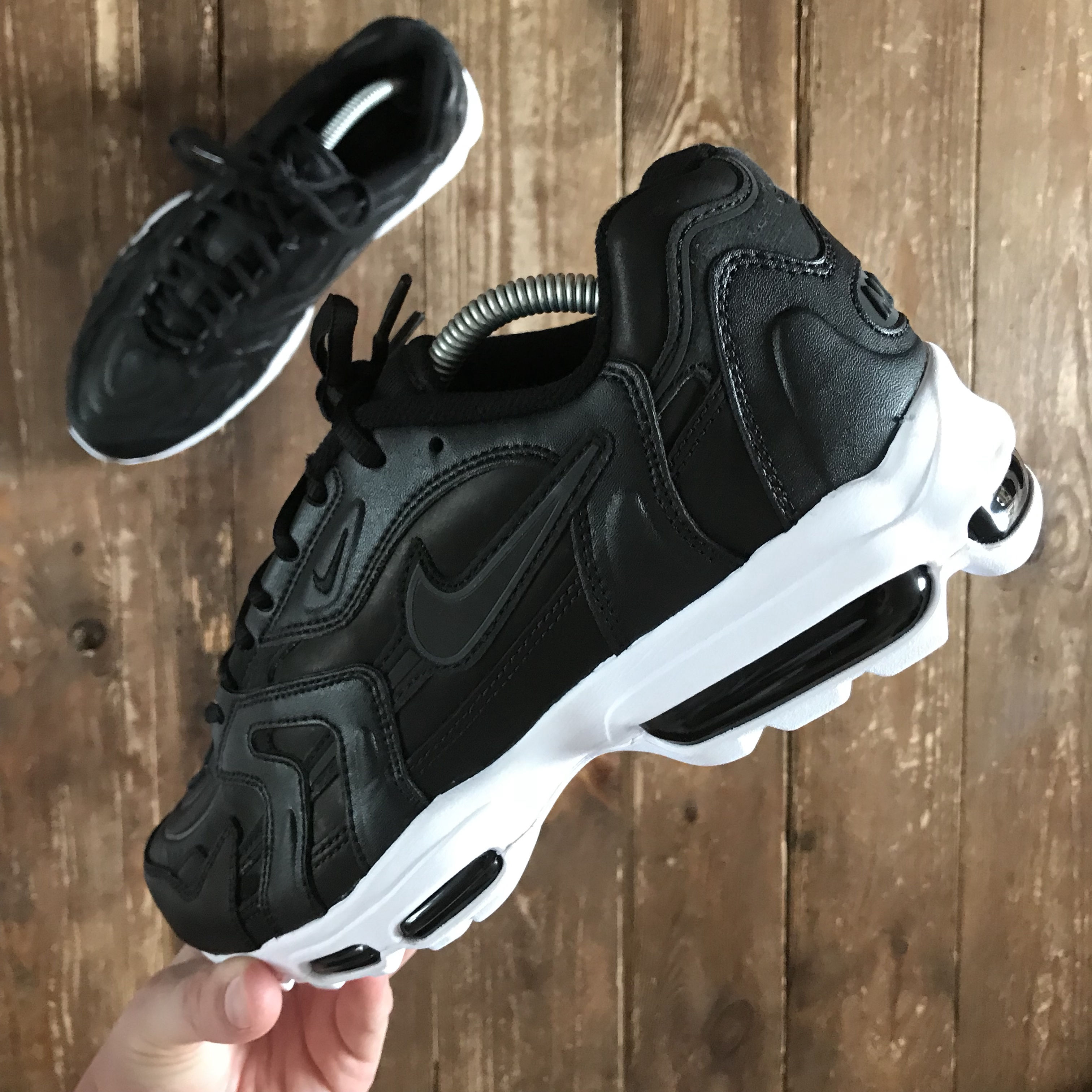 detailing good quality get cheap Nike Air Max 96 ii xx Black/White Size:... - Depop