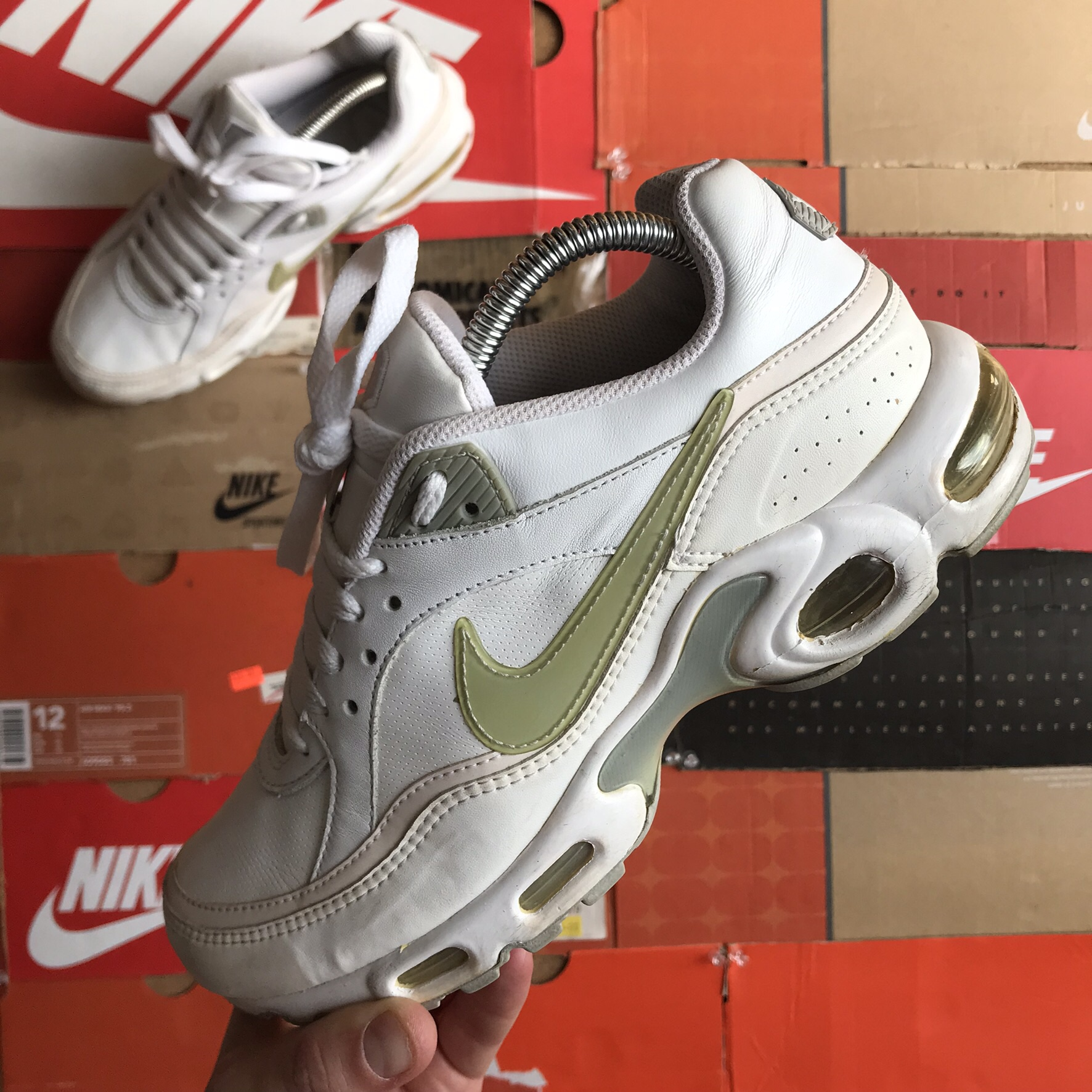 finest selection 02cad c0150 Nike Air Max Plus TN Classic Size: 6.5uk Condition:... - Depop