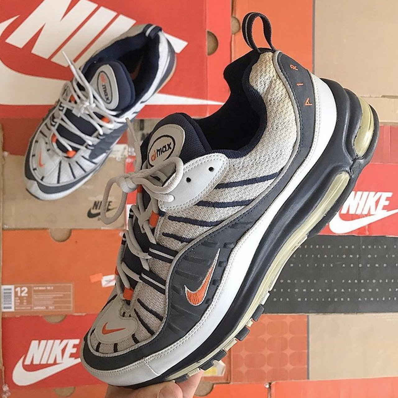 Nike Air Max 98 JD Exclusives Size