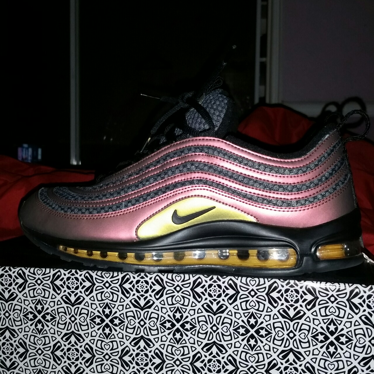 new arrival 5a728 d4395 Nike Air Max Skair 97. Size 10. Worn literally 2... - Depop
