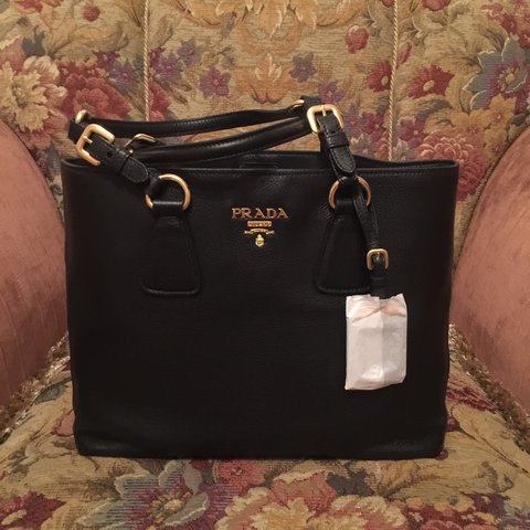 78b65703c84b7f New Prada shoulder bag/ tote Purchased in Italy Can provide - Depop