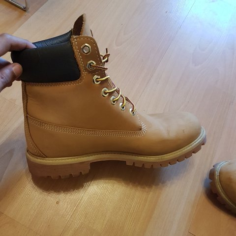 839dd9b1 @leondixonnn. 2 years ago. Stockport, United Kingdom. These are real timberland  boots size ...