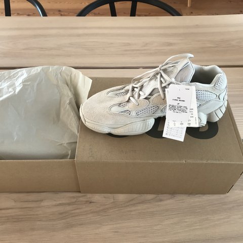 ac30a52b3 Yeezy 500 Blush Size  45 1 3 EU   US 11   UK DS Meetups in - Depop