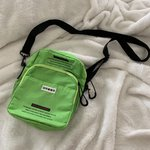 fb29696f1ea4 UTILITY LIME GREEN SIDE BAG never