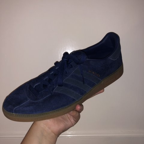 86f32b745a325 Adidas München s UK Size 12. 9 10 condition Worn a couple - Depop