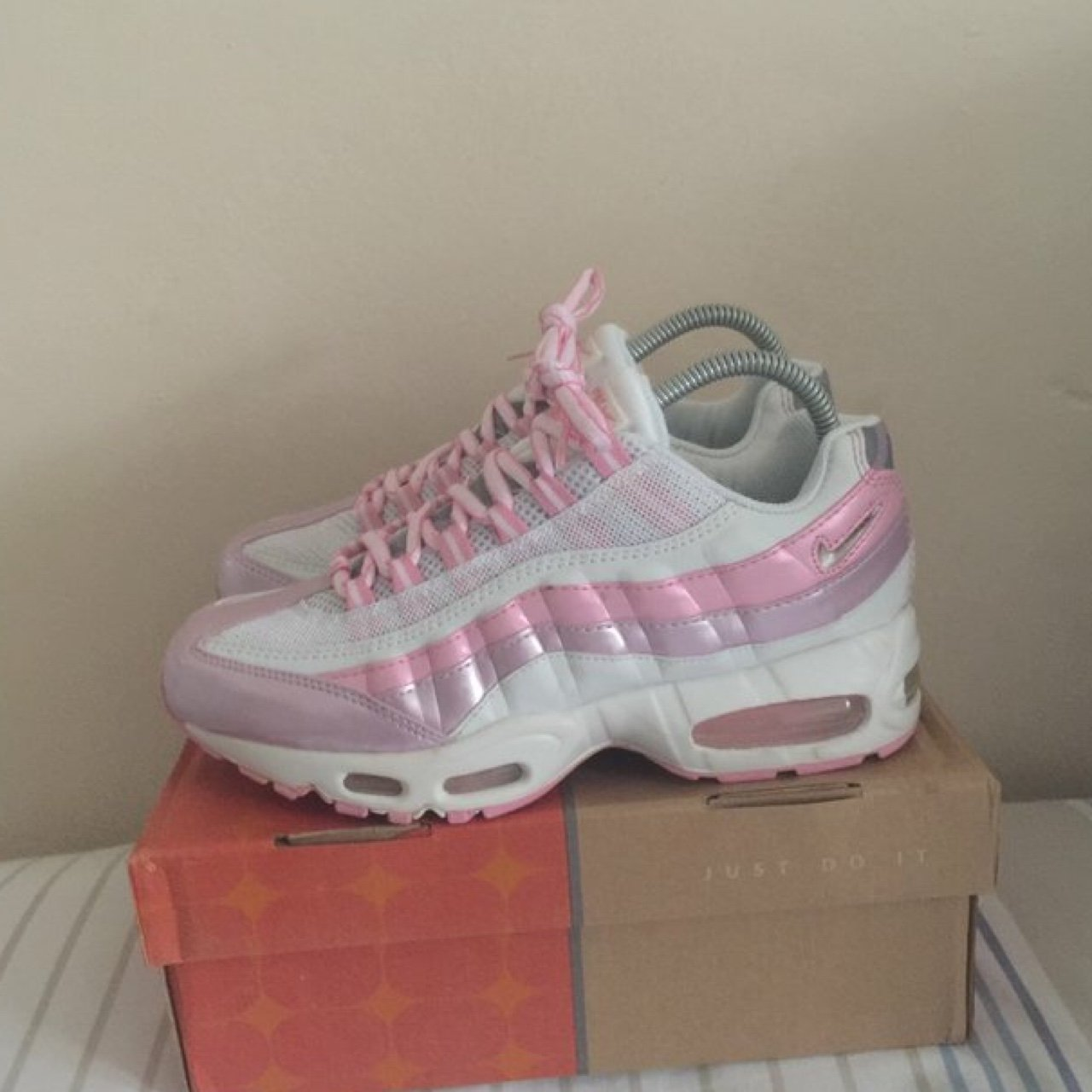georgiahardman. 3 years ago. United Kingdom. Reluctantly selling my super  cute baby pink air max ... bc00fd3e7