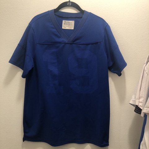 80d87a90f @lilfuckblunt. 8 months ago. United States. Vintage Champion blue football  jersey