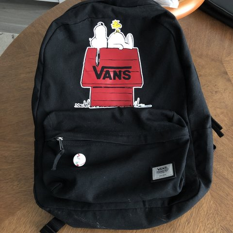 Vans x Peanuts snoopy backpack - Depop